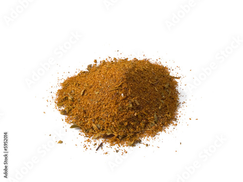 Cajun Seasoning isolated