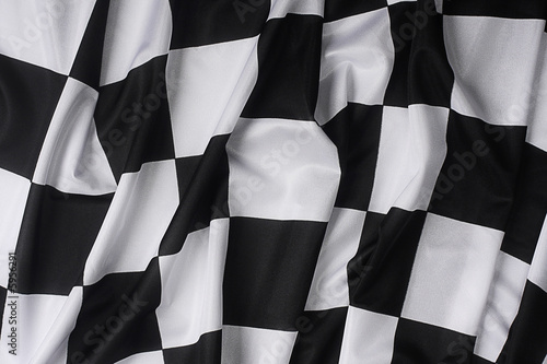 Foto op Plexiglas Motorsport This is a real checkered flag of high quality