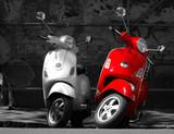 Jest to dwa motocykle w mieście.