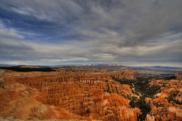 Hoodoo's in Bryce Canyon National Park in November