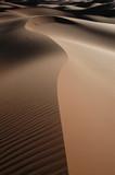 Sand dunes of Erg Chebbi in the Sahara Desert, Morocco. poster