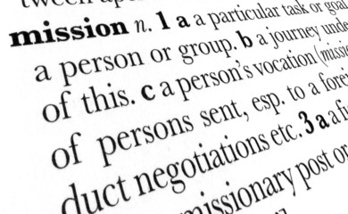 Mission word dictionary definition in great perspective