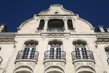 Façade art nouveau à Angoulême