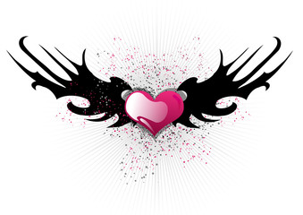 Abstract valentines background
