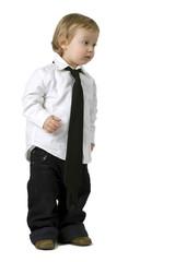 Bambino camicia e cravatta
