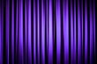 Purple Theater Curtain