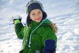 Snowball boy poster