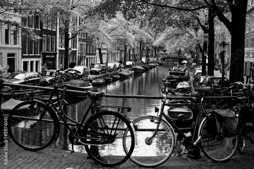 Poster Amsterdam Bloemgracht d'Amsterdam