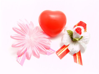 valentines with flowers
