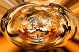 Surreal Golden Egg poster