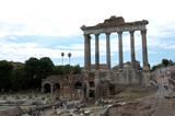 Saturntempel im Forum Romanum poster