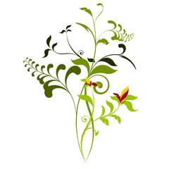 vecteur série - plante vectoriel au printemps