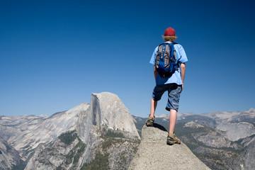 Half Dome Hiker