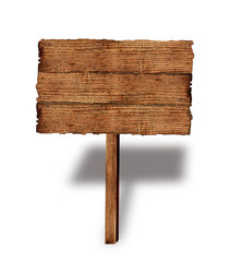 Holz Schild