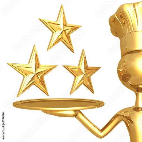 3 Star Restaurant Rating