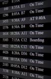 flight schedule poster