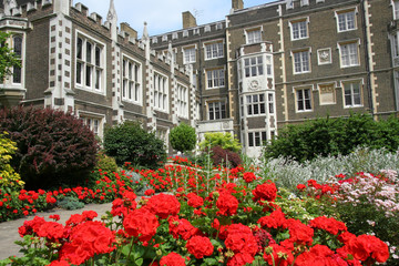 London, Inner Temple Law Offices and  Garden
