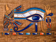 Egyptian papyrus, Horus Eye - 5999467