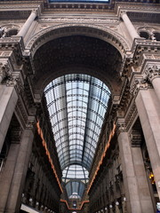 Milan, Italie, Galerie Vittorio Emmanuele