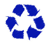 recycle symbol - vector poster