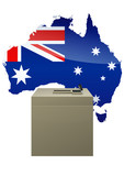 Election Australienne poster