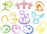 easter icons poster