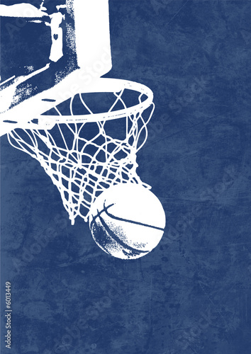 Leinwandbild Motiv Basketball Background