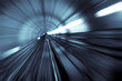 motion blur of tunnel - 6013891