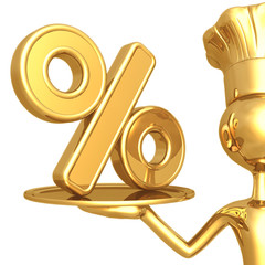 Golden Chef Serving Percentage