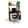 Table Office. Normal field of view. 3D render.