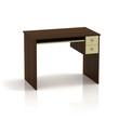 Empty Table Office. 3D render.