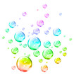 Rainbow bubbles