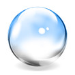 Transparent Glass Sphere - 6018276