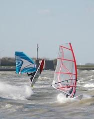windsurf par tempête