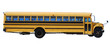 School bus isolated over white background - 6020463