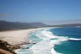 majestic seascape with Atlantic ocean(South Africa) poster
