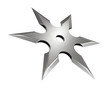 canvas print picture - Shuriken
