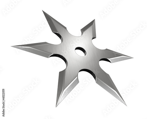 canvas print picture Shuriken
