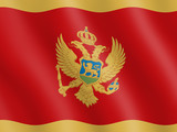 Flag of Montenegro poster