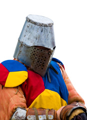 medieval knight in armor