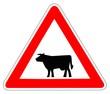 Panneau de Signalisation (Passage d'animaux domestiques - A15A1)