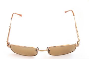 On a photo sunglasses