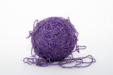Violet knitting tread