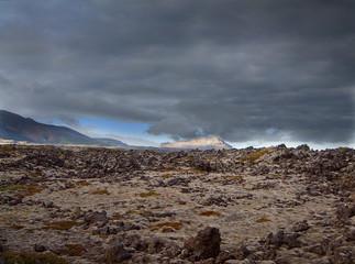 Lavafield Iceland
