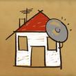 dessin maison