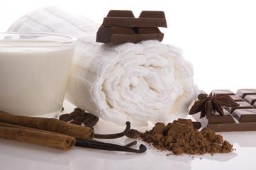 sensuality spa chocolate aromatherapy items