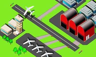 airport- illustration