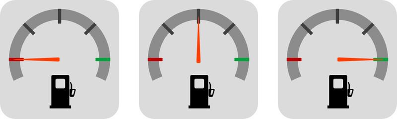 indicatore benzina