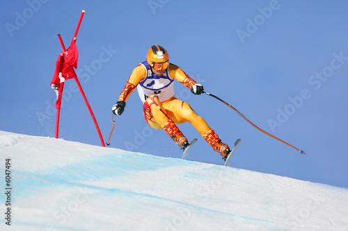 Papiers peints Glisse hiver Ski