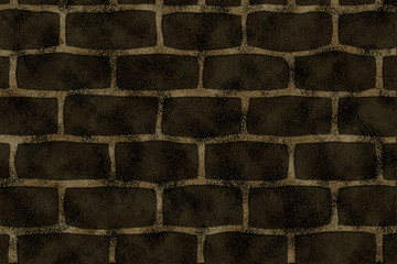 Texture of stone wall - grunge